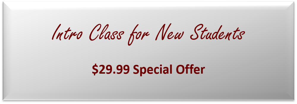 29.99 Intro Class Offer